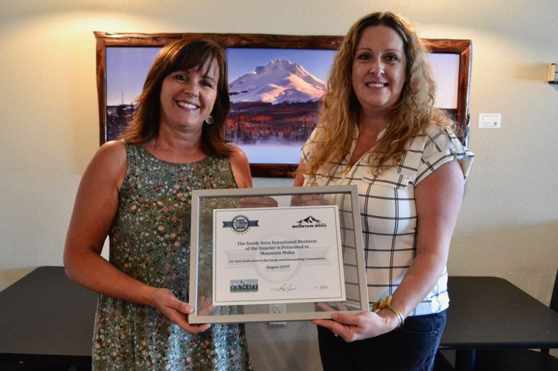 PMG PHOTO: BRITTANY ALLEN - Tina Hovey of Mountain Moka has been nominated twice for the SAS Business Award.