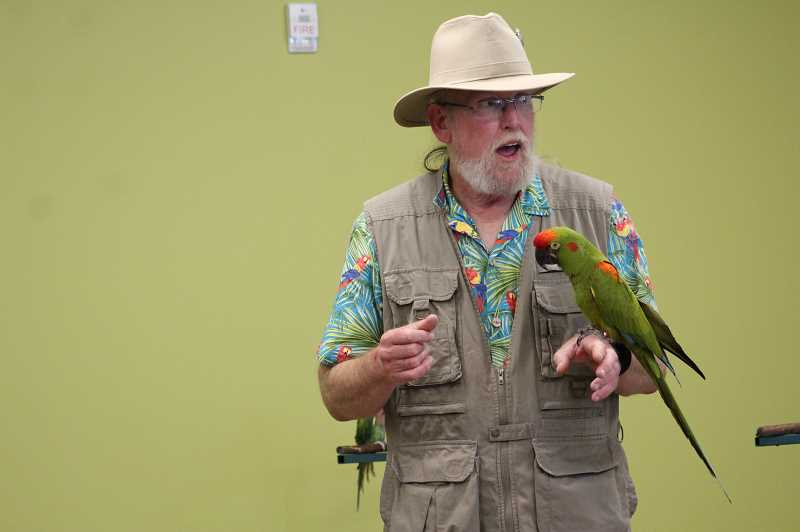PMG FILE PHOTO: KRISTEN WOHLERS - The Oregon Bird Man is coming to Pheasant Pointe Assisted Living & Memory Care on Thursday, Sept. 26.