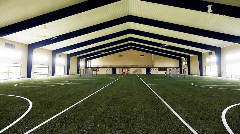 COURTESY PHOTO: WUFC - Plans for the facility include an indoor field house about half the size of a soccer field.