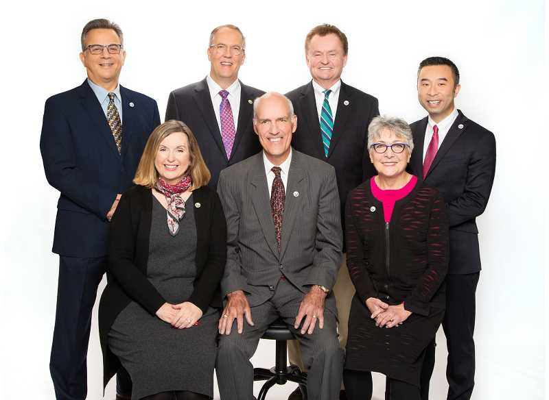 FILE PHOTO - 2019-2020 Lake Oswego City Council