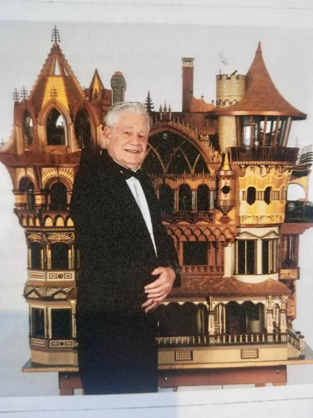 COURTESY PHOTO: PLUMB FAMILY - The late Bruce Plumb started making miniatures as a hobby after his children moved out of the home.