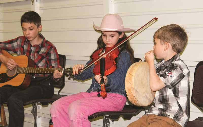 CENTRAL OREGONIAN - The Central Oregon Country Music Gathering is free to attend and people of all ages are encouraged to bring their instruments and participate in different workshops and jam sessions held throughout the three-day event.