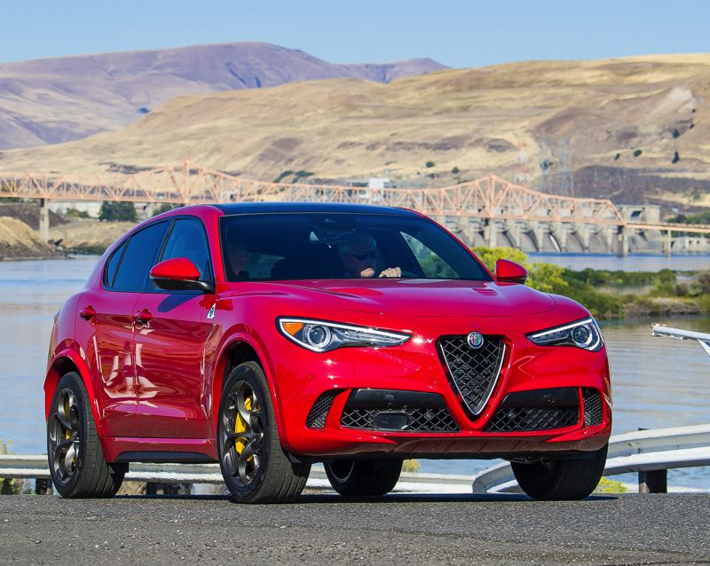 NWAPA: DOUG BERGER - Equipped with 505 horsepower and huge brakes, the Alfa Romeo  Stelvio could race any sports car through the Alps.