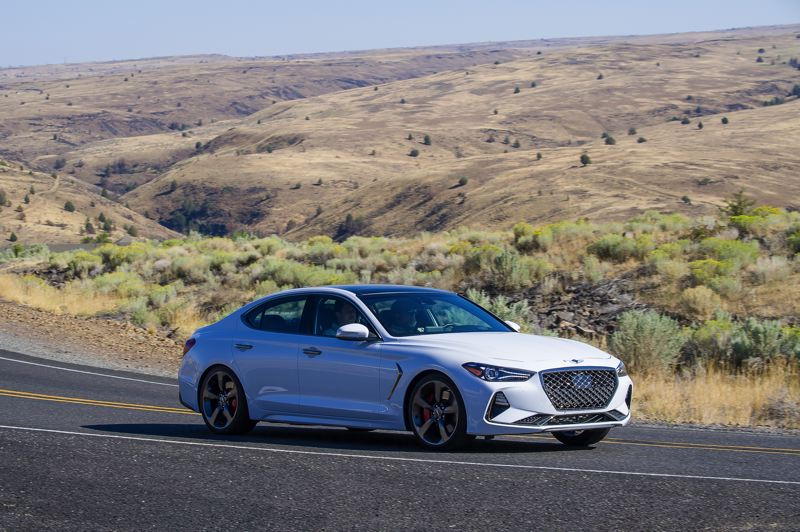 NWAPA: DOUG BERGER - The 2019 Genesis G70 offers a 3.3-liter twin-turbo V6 engine with 365 horsepower in a smooth, supremely comfortable package.