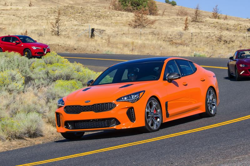 NWAPA: BAILEY O'BAR - The 2019 Kia Stinger GTS was also impressive with the same Hyundai-derived engine and a more sporty demeanor.