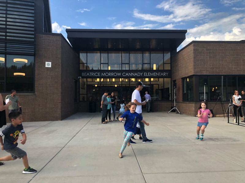 PMG PHOTO: STEPHANIE BASALYGA - The North Clackamas School District built the 61,700-square-foot Beatrice Morrow Cannady Elementary School on Southeast Vogel Road in unincorporated Happy Valley with money from a voter-approved construction bond.
