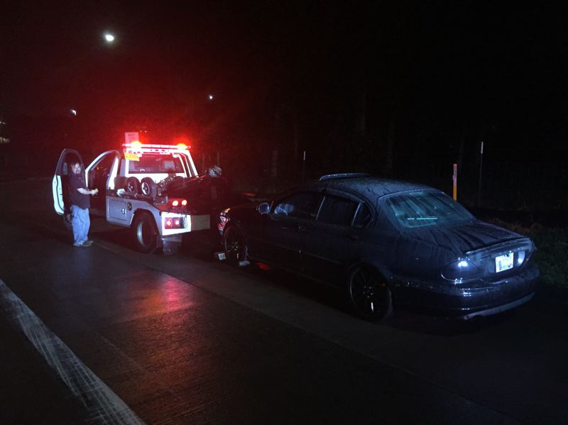 COURTESY PPB - Portland police arrested four drivers and towed three cars over the weekend for street racing.