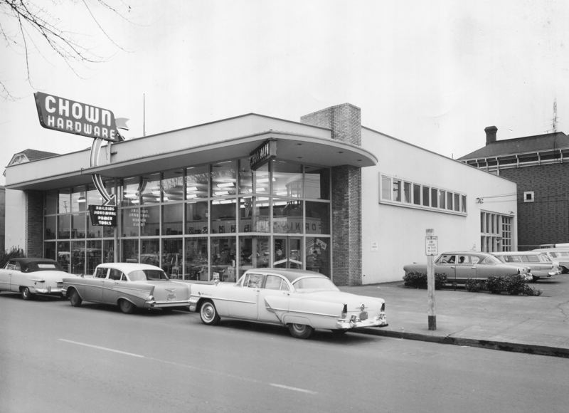 COURTESY: CHOWN HARDWARE - Started in a riverfront location in 1879, Chown Hardware operated out of several buildings in downtown Portland before settling into its current location along Northwest 16thAvenue between Flanders and Everett Streets.
