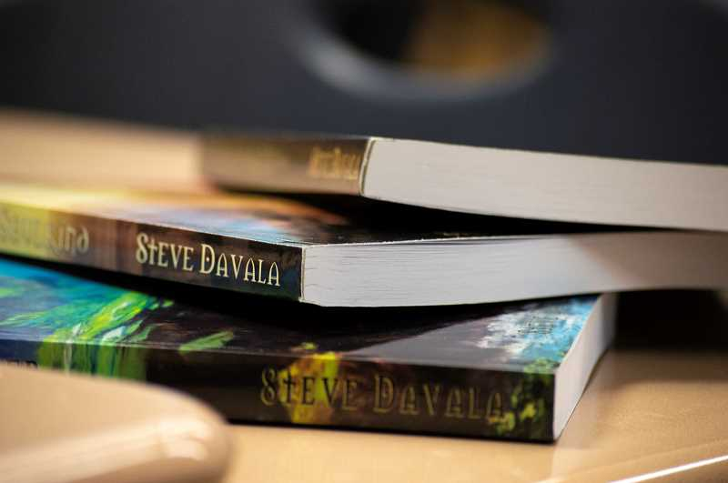 PMG PHOTO: CLARA HOWELL  - Steve Davala has three books published in a young adult fantasy series.