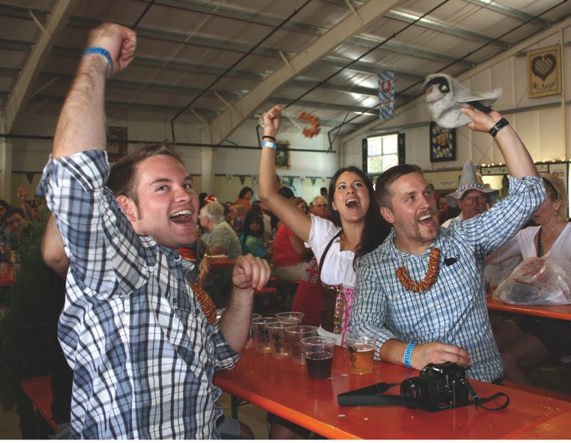 PMG FILE PHOTO - Beer, pretzels and polkas — true German delights — will be at the Mount Angel Oktoberfest celebration this weekend.