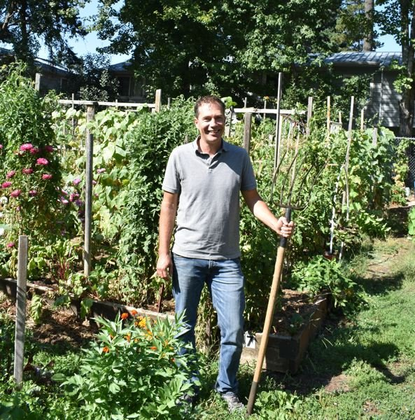 PMG PHOTO: TERESA CARSON - Adam Kohl founded and leads nonprofit Outgrowing Hunger, which has created and manages 12 community gardens in Gresham and East Multnomah County that serves 450 families.