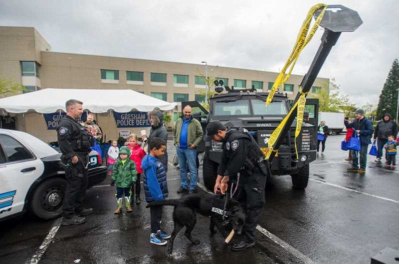 PMG FILE PHOTO - Greshams annual CityFest celebration both showcases city services and provides many fun activities for families.