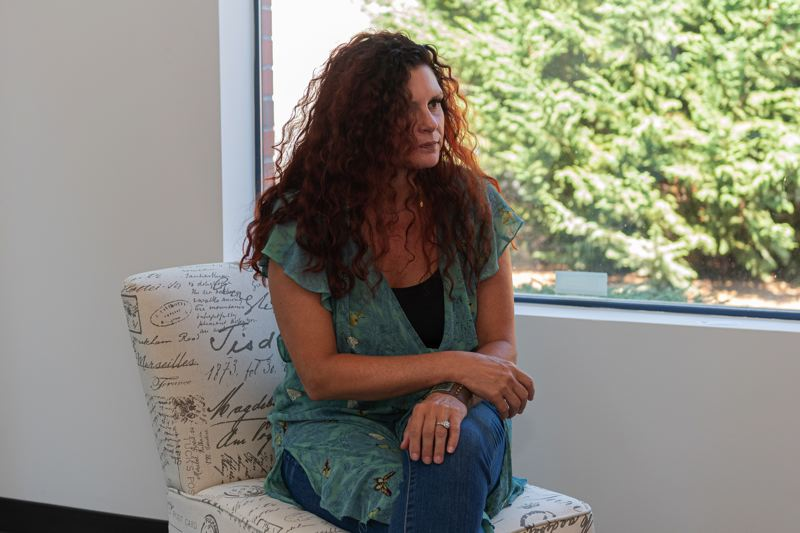 PMG PHOTO: CHRISTOPHER OERTELL - Athena Phillips sits in her office at Bloom Integrative Care, a new clinic in Forest Grove.