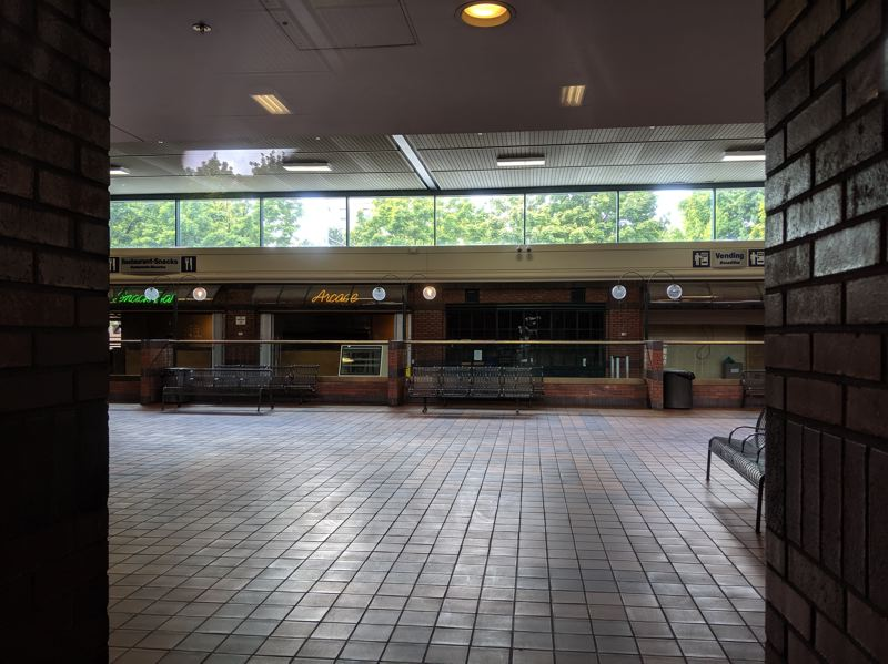 PAMPLIN MEDIA GROUP: JOSEPH GALLIVAN  - Portland's Greyhound station, now out of use, is up for sale.