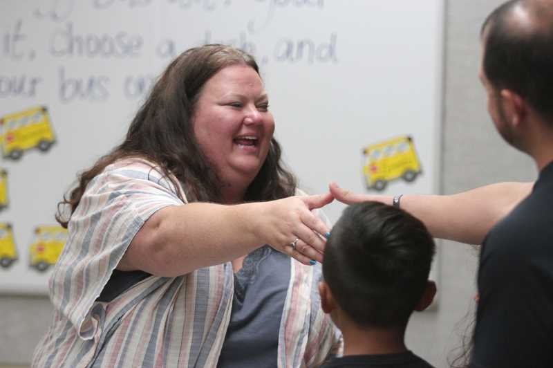 PMG PHOTO: PHIL HAWKINS -  Fourth-grade teacher Mollee Hunt looks forward to helping her students transition to becoming more independent learners this year.