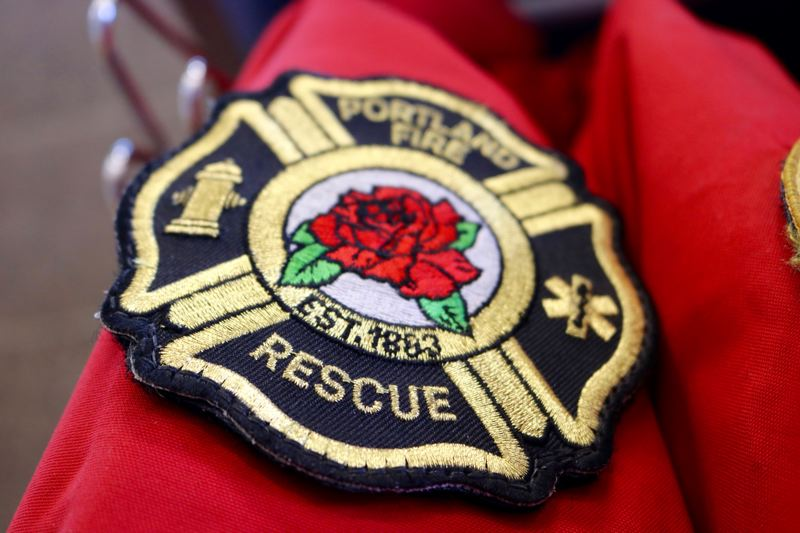PMG FILE PHOTO - Portland Fire & Rescue and the Portland Firefighters Association mark the 18th anniversary of the Sept. 11, 2001, attacks with a ceremony and a blood drive.