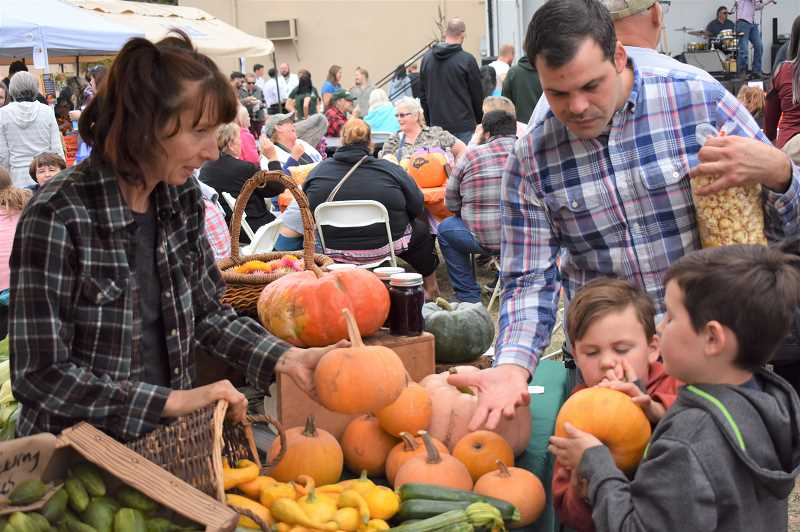PMG FILE PHOTO - A variety of vendors will be at the Estacada Harvest Festival, scheduled for 1-5 p.m. Saturday, Sept. 28,