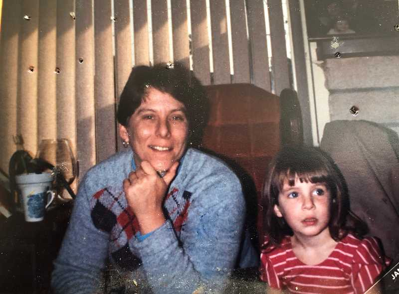 COURTESY PHOTO - Harmony Baking Company owner Linda Lawrence and her niece Jenny Beaudoin are pictured in this photo, taken around 1986.