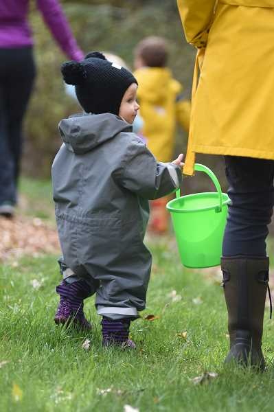COURTESY PHOTO  - Preschoolers and their parents and caregivers are invited to take part in a nature walk put on by members of the Friends of Springbrook Park Sept. 27.
