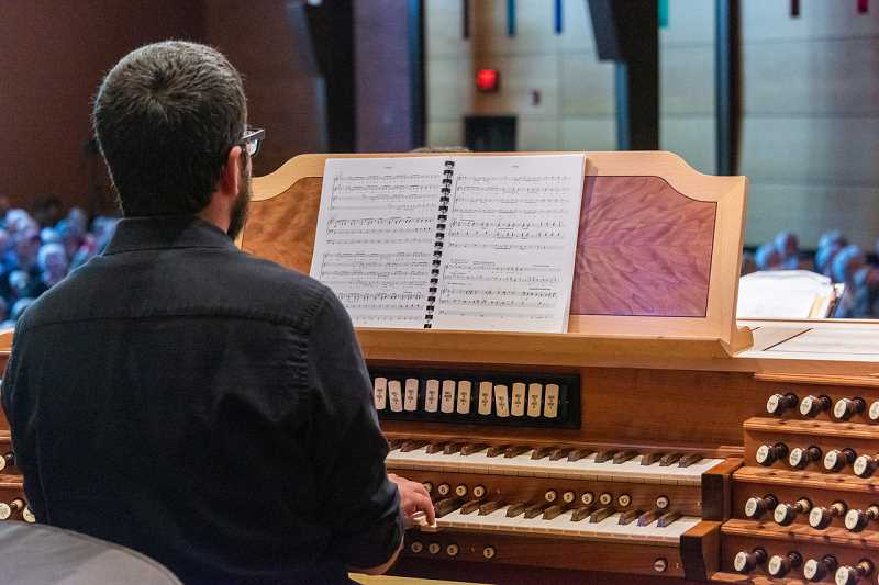 Lake Grove Presbyterian Church Organist and Music Associate Jeff Wood will open the churchs concert series Sept. 29 at 2 p.m. with organ music composed by women and people of color. The concert is free and open to all.