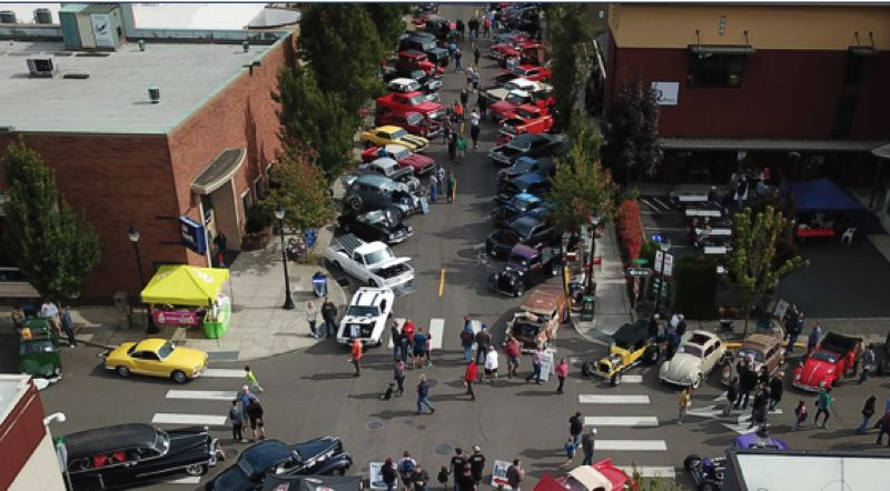 CONTRIBUTED - Downtown Oregon City will be packed with cars on Saturday, Sept. 14.