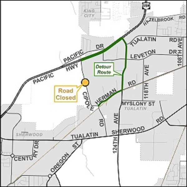 Cipole Road closed for a month beginning Sept. 24