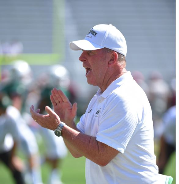COURTESY PHOTO: CAL POLY - Coach Tim Walsh and the Cal Poly Mustangs will visit Corvallis on Saturday to take on the Oregon State Beavers.