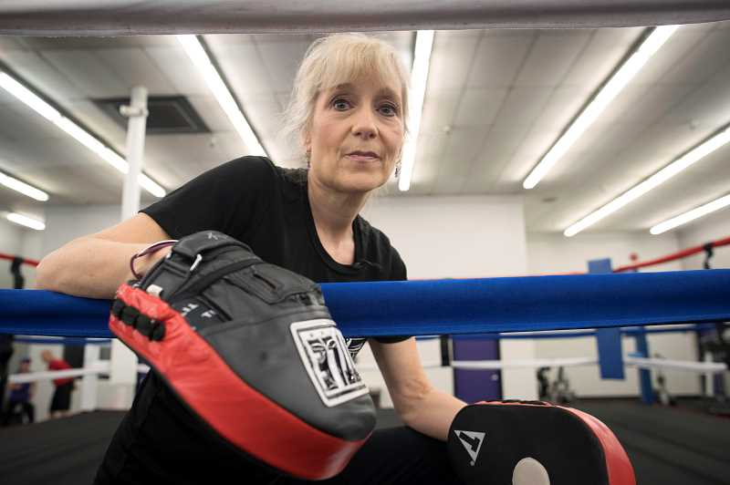 Punching back against Parkinson's at Tigard gym