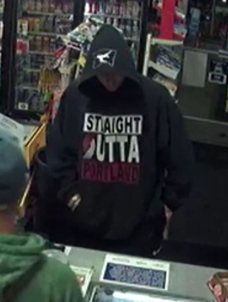 VIA PPB - Police say this man is a suspect in a recent robbery.