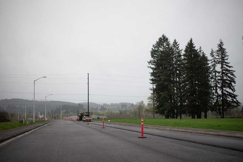 PMG PHOTO: ANNA DEL SAVIO - Portland Community College's training facility was planned for a 17-acre lot on Wagner Court in Scappoose, close to the Oregon Manufacturing Innovation Center Research & Development facility.