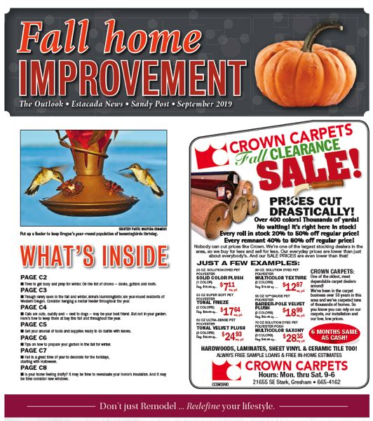 (Image is Clickable Link) Fall Home Improvement 2019