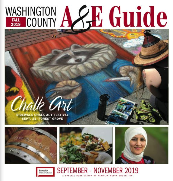 (Image is Clickable Link) Washington County Arts Guide - Fall 2019