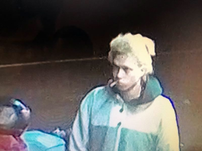 COURTESY PHOTO: MCSO  - Surveillance footage captured an image of a man Multnomah County Sheriffs Office investigators suspect in a burglary of Corbett Country Market on Historic Columbia River Highway.