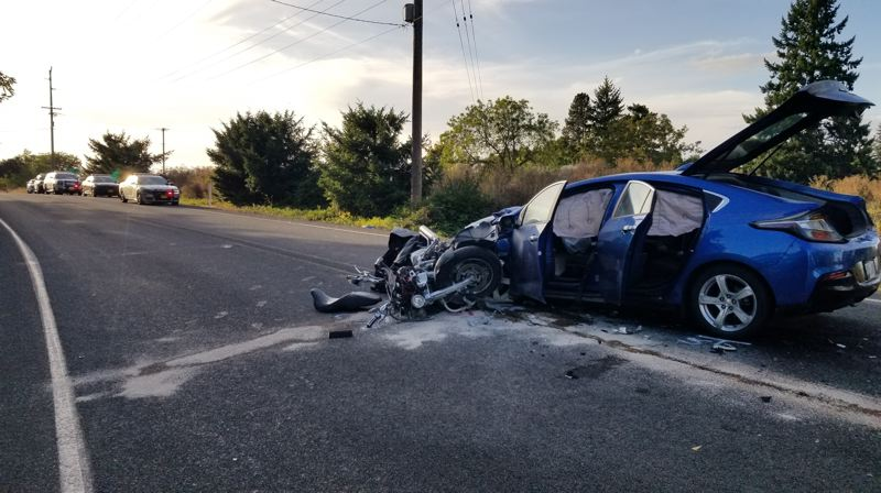 OSP PHOTO - A Hillsboro man died in a crash near Woodburn, state police say.