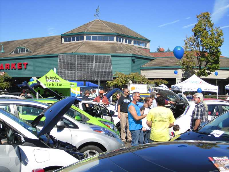 Electric vehicle event taking place in Wilsonville this week