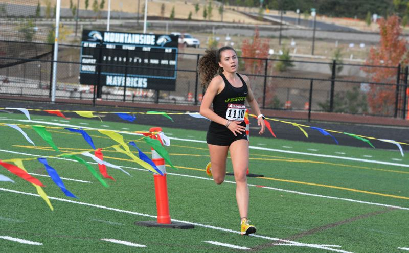 TIMES FILE PHOTO - Jesuit senior Alexis Kebbe already has the fastest time in the Metro League for the Crusaders.