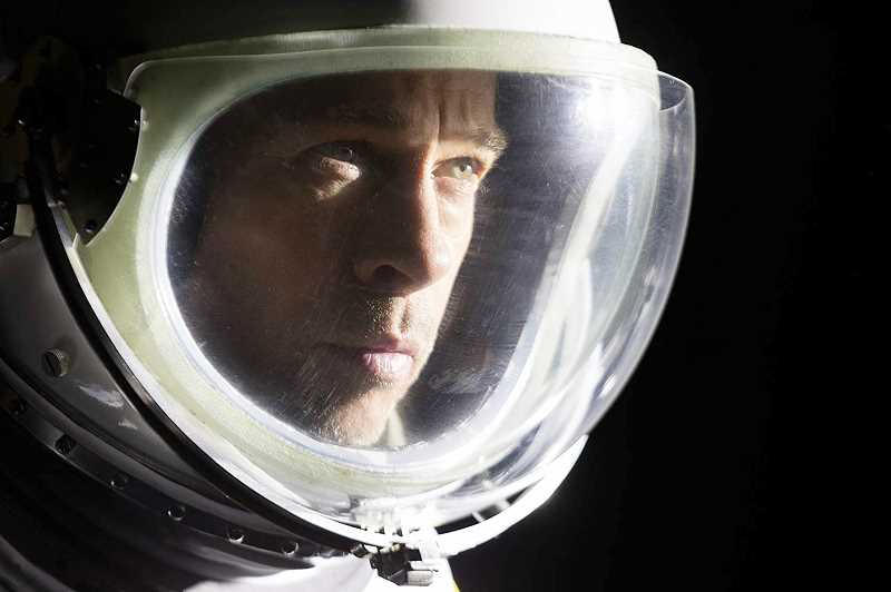 SUBMITTED PHOTO - Brad Pitt stars in 'Ad Astra,' which will be released in area theaters on Friday.