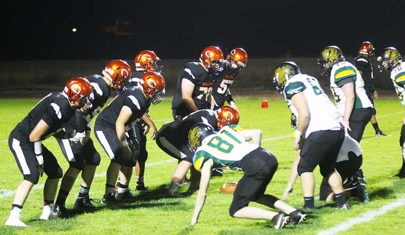 STEELE HAUGEN - The Culver football team defeated Rogue River 19-16 Sept. 13.