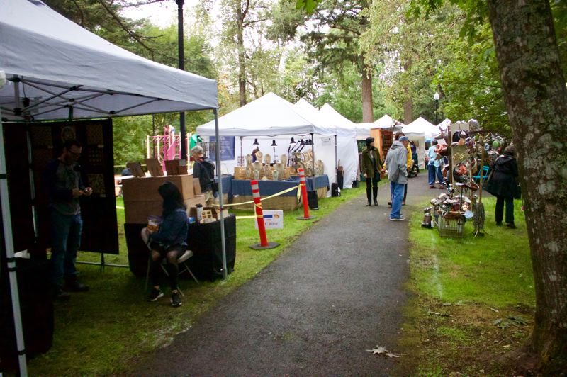 PMG FILE PHOTO - The Fall Festival of the Arts celebrates the rich creativity that abounds in and around Troutdale in the sublime setting of Glenn Otto Community Park.