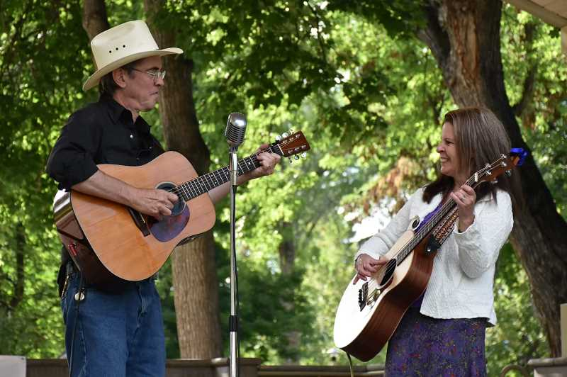 COURTESY PHOTO: PHOENIX DUO - Tim Crosby and Kathy Boyd Crosby of Phoenix Duo, are noted for award winning bluegrass and Americana music.