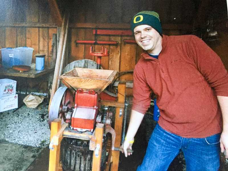COURTESY PHOTO - Philip Foster Farm's annual cider squeeze is scheduled for this Saturday, Sept. 21.