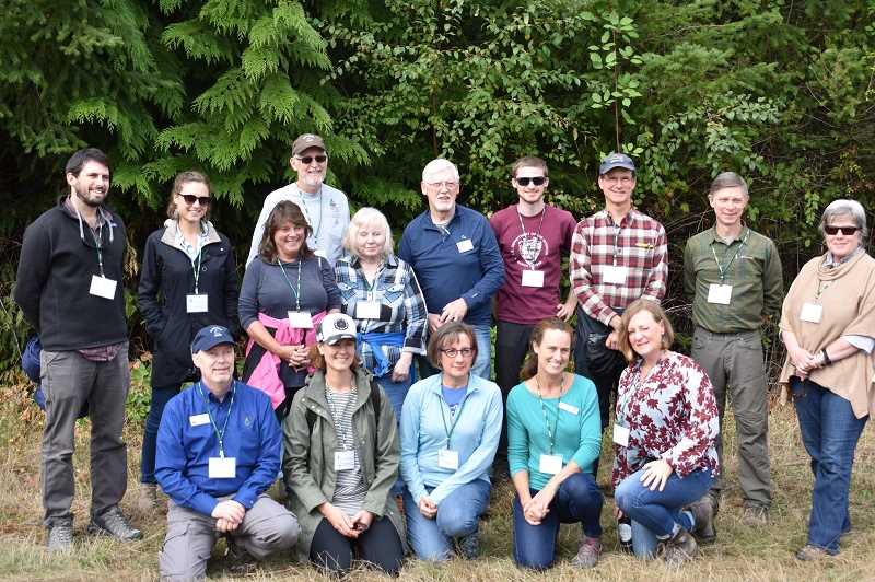 Leaders visit community forest