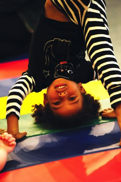 COURTESY PHOTO: DAVID KREBS - Will music make kids stand on their heads? We'll see, as kids usually react to music with 'smiling, laughing, singing and dancing and acting like animals all the way to sitting down,' Aaron Nigel Smith said.