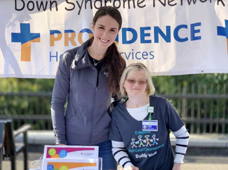 COURTESY PHOTOS  - All are invited to attend DSNO Buddy Walk taking place Sept. 22 at Millennium Plaza Park in downtown Lake Oswego.