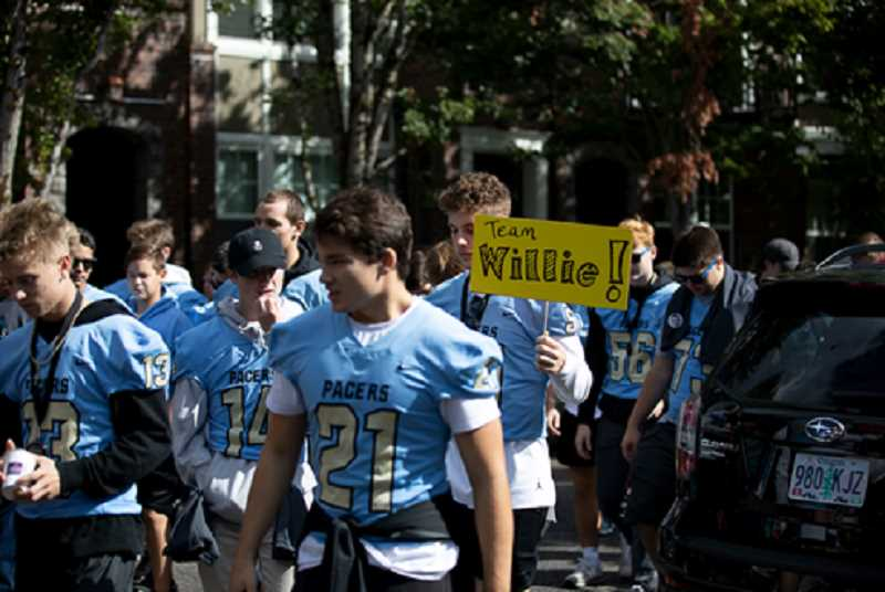 The Buddy Walk has been a popular event for more than 15 years in Lake Oswego, and many high schoolers participate in support of DSNO.