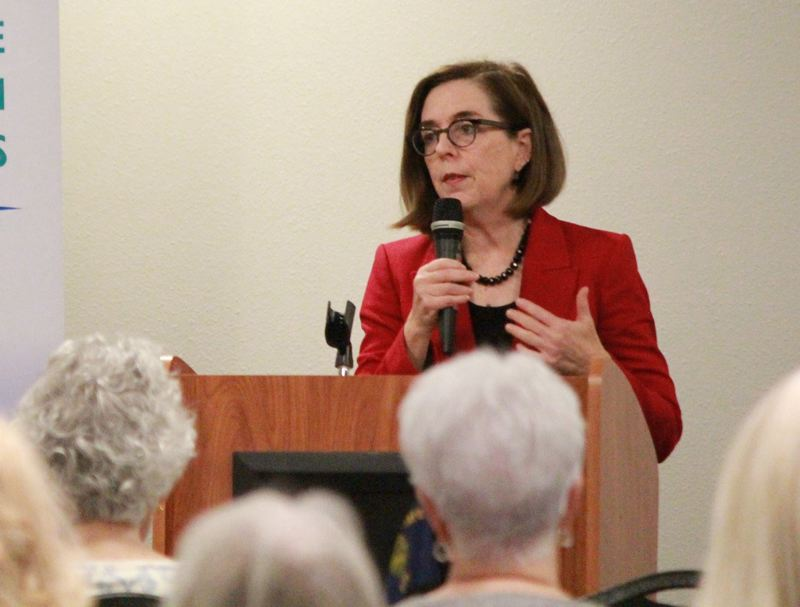 PMG FILE PHOTO - Gov. Kate Brown said Wednesday, Sept. 18, that she would not call a special session to clarify a new change to the state's death penalty law.