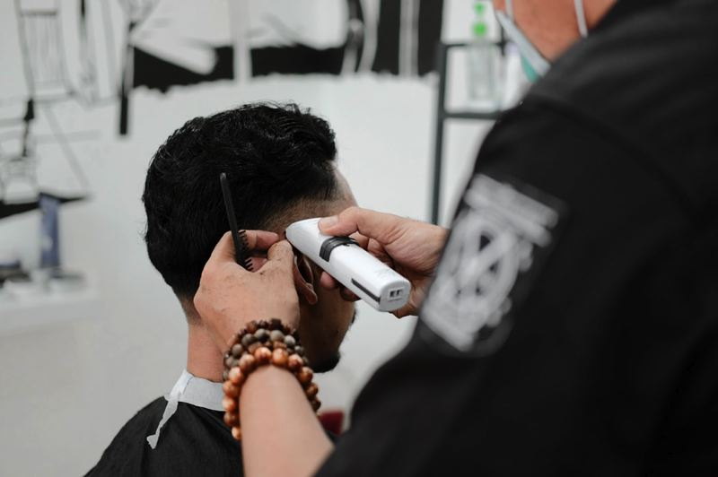 COURTESY PHOTO: FIRZA PRATAMA FOR UNSPLASH - Haircuts will be one of the many services offered by Wallace Medical Concern on Wednesday, Sept. 25.