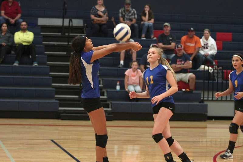 PMG PHOTO: PHIL HAWKINS - Gervais volleyball