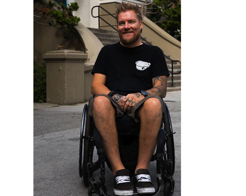 COURTESY PHOTO - Kevin Brooks, who became a paraplegic following a drunk-driving crash, wants to help youth make good decisions.
