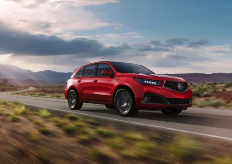 HONDA NORTH AMERICA - The 2020 Acura MDX is one of the best three-row crossovers at any price, and the A-Spec package with SH-AWD adds to the driving excitement.